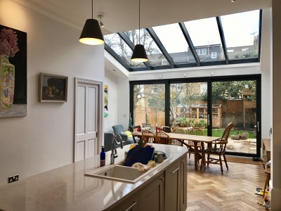 Extension and Refurbishment - London